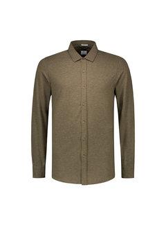 Dstrezzed Jersey Overhemd Army Green (303230 - 511)