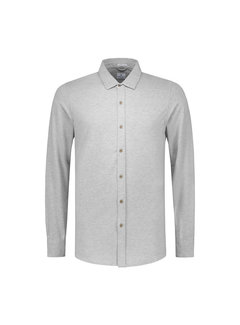 Dstrezzed Jersey Overhemd Licht Grijs (303230 - 830)