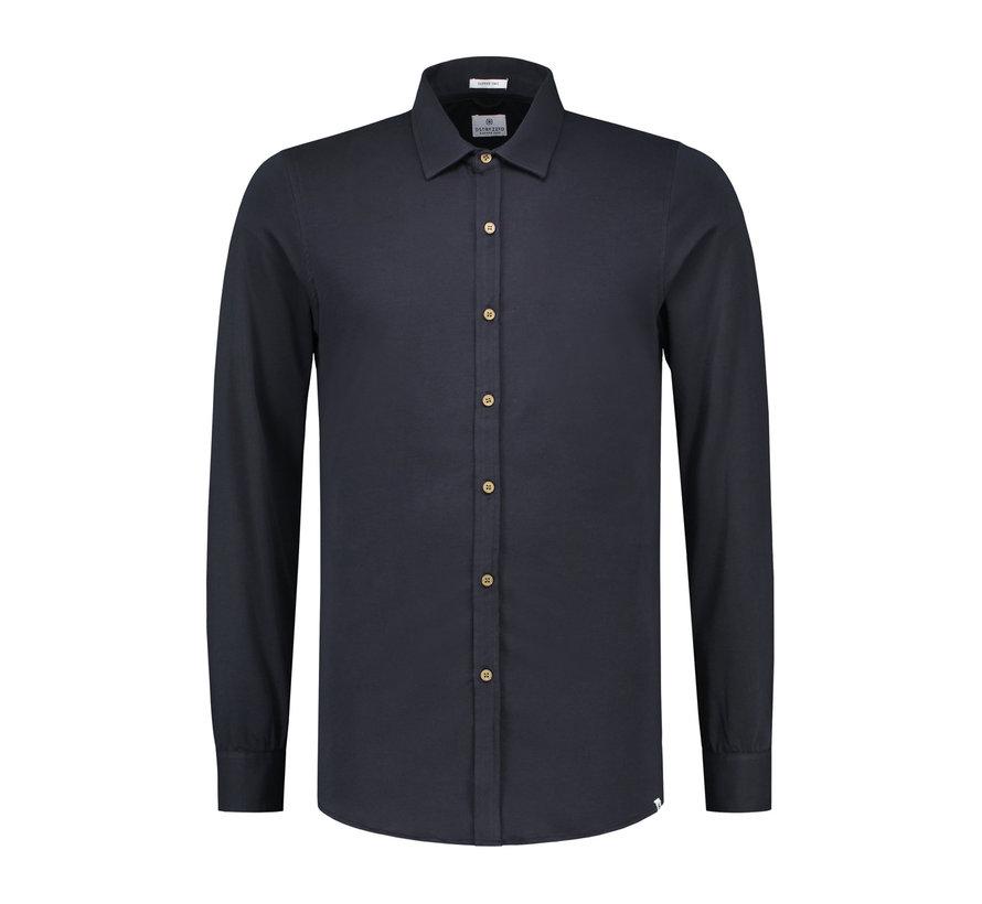 Jersey Overhemd Navy (303230 - 649)