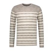 Dstrezzed Sweater Gestreept Beige (404170 - 205)