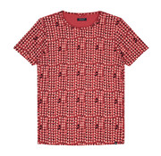 Dstrezzed T-shirt Print Coral (202375 - 428)