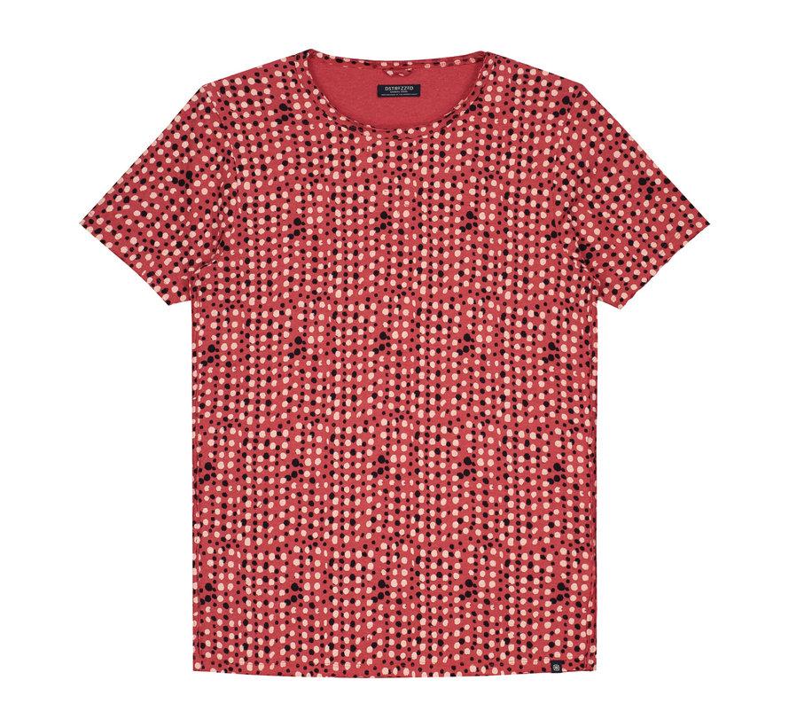 T-shirt Print Coral (202375 - 428)