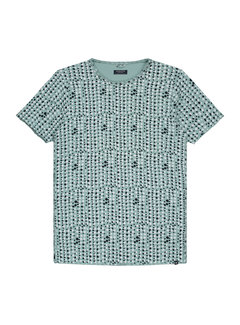 Dstrezzed T-shirt Print Licht Groen (202375 - 521)