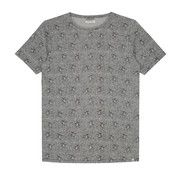 Dstrezzed T-shirts Parrot Melange Licht Grijs (202378 - 830)