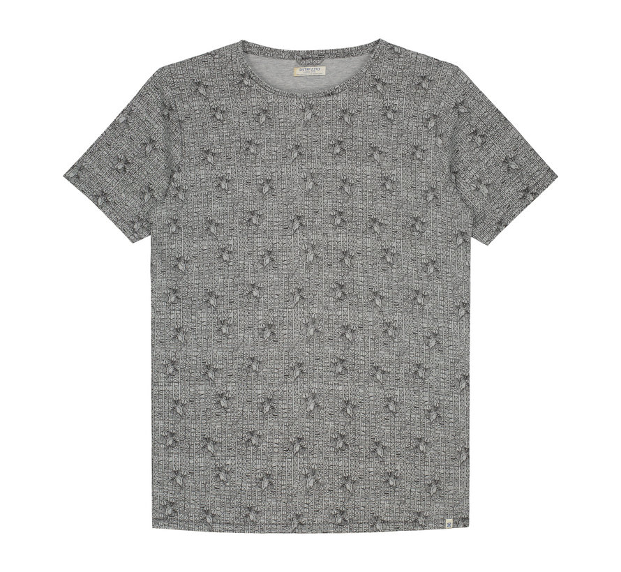 T-shirts Parrot Melange Licht Grijs (202378 - 830)