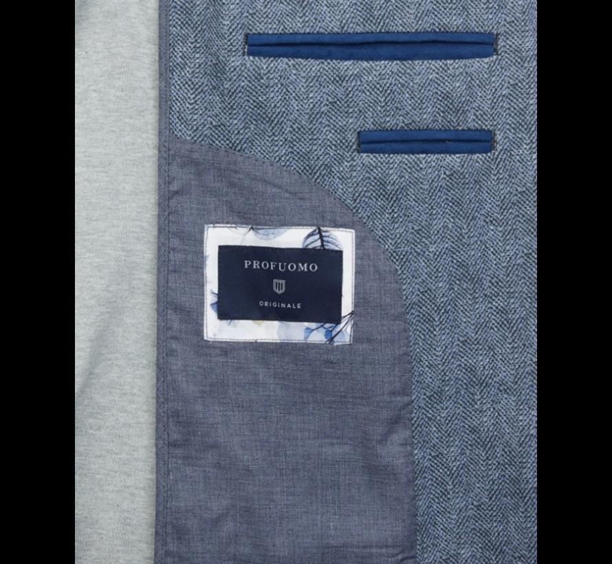 Knitted Colbert Licht Blauw (PPQP3A0006)N