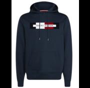 Tommy Hilfiger Logo Hoodie Navy (MW0MW11579 - CJM)