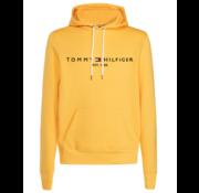 Tommy Hilfiger Logo Hoodie Geel (MW0MW11599 - ZCM)
