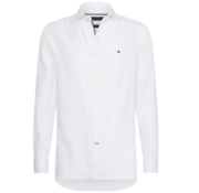 Tommy Hilfiger Stretch Overhemd Slim Fit Wit (MW0MW10720 - YAF)