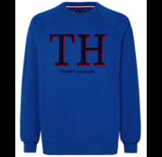 Tommy Hilfiger Sweater Logo Blauw (MW0MW11557 - CKB)