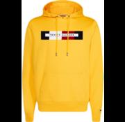 Tommy Hilfiger Hooded Sweater Logo Geel (MW0MW11579 - ZCM)