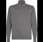 Tommy Hilfiger Half-Zip Sweater Grijs (MW0MW11658 - P9W)