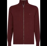 Tommy Hilfiger Vest Cashmere Bordeaux Rood (MW0MW11675 - XTP)
