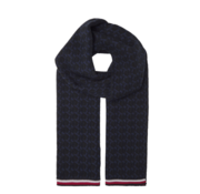 Tommy Hilfiger Sjaal Print Navy (AM0AM05175 - 0G5)