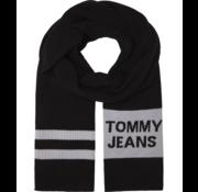 Tommy Hilfiger Sjaal Warm Logo Zwart (AM0AM05212 - BDS)