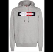 Tommy Hilfiger Hooded Sweater Logo Grijs (MW0MW11579 - P9V)