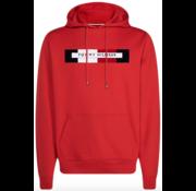 Tommy Hilfiger Hooded Sweater Logo Rood (MW0MW11579 - XBE)