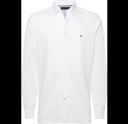 Tommy Hilfiger Overhemd Slim Fit Wit (MW0MW10721 - YAF)