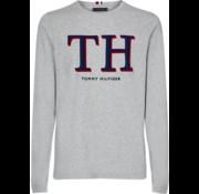 Tommy Hilfiger Longsleeve T-shirt TH Grijs (MW0MW11826 - P9V)