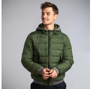 New In Town Bomber Jack Close-Fitting Autumn Groen (8987006 - 653)