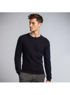 New In Town Pullover Close-Fitting Night Blauw (8985010 - 494)