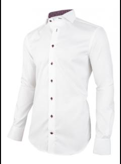 Cavallaro Napoli Overhemd Lettro Wit (1095067 - 10000)
