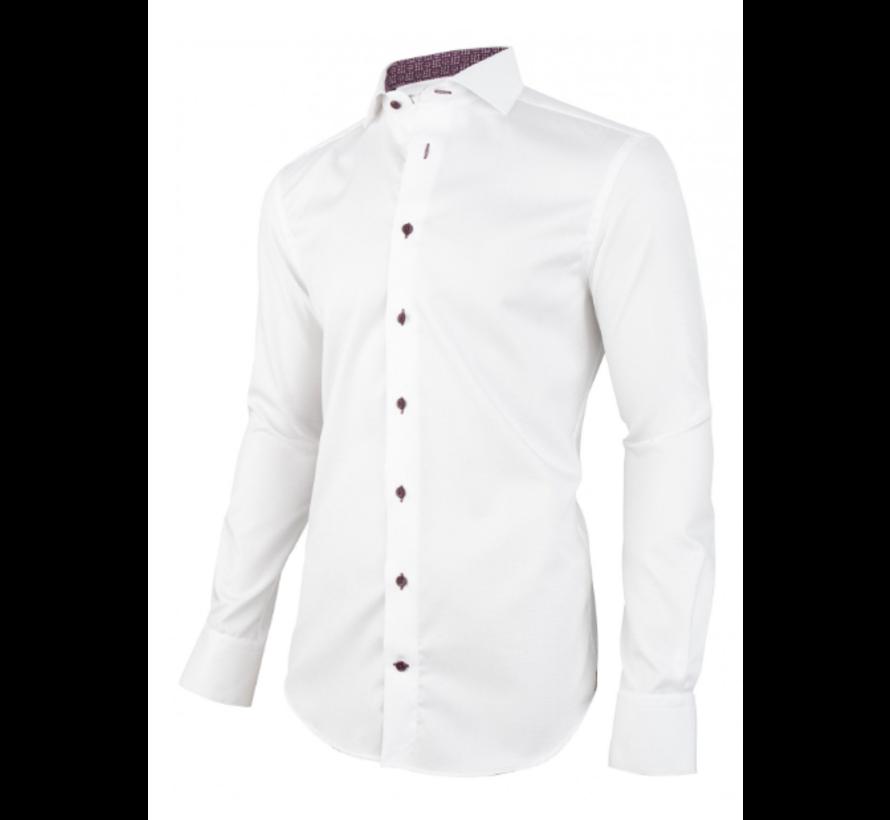 Overhemd Lettro Wit (1095067 - 10000)