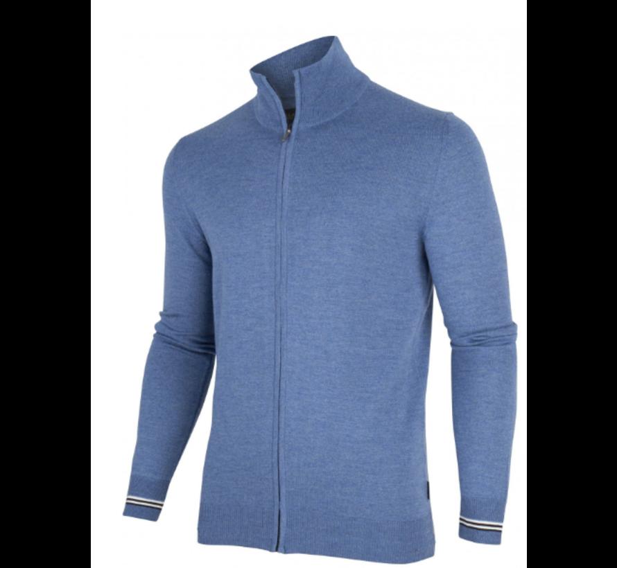 Vest Romagno Cardigan Licht Blauw (1995002 - 61000)