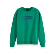 Scotch & Soda Sweater Logo Groen (153582 - 3318)
