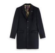 Scotch & Soda Wintercoat Wol blend Navy (151987 - 0093)