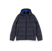 Scotch & Soda Winterjas Gevoerd Navy (152012 - 0002)