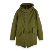 Scotch & Soda Parka Army Groen (151999 - 0360)