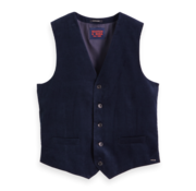 Scotch & Soda Gilet Corduroy Navy (152111 - 0002)