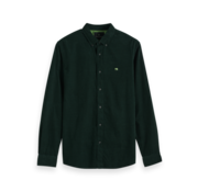 Scotch & Soda Overhemd Curduroy Groen (152155 - 0118)