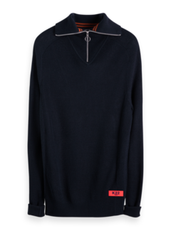 Scotch & Soda Half-Zip Sweater Navy (152347 - 0002)