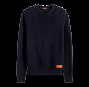 Scotch & Soda Sweater Structuur Navy (152344 - 0004)