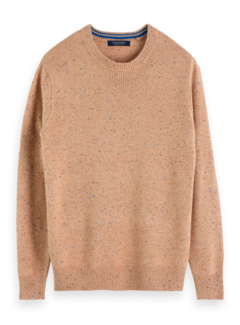 Scotch & Soda Trui Stipjes Camel (152388 - 0760)