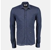 New In Town Jersey Overhemd Close-Fitting Dusk Blauw (8991011 - 479)