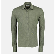 New In Town Jersey Overhemd Close-Fitting Autumn Groen (8991011 - 653)