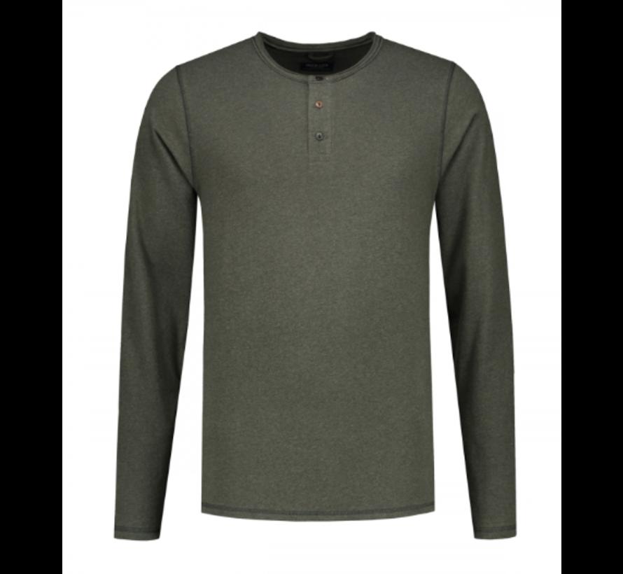 Long Sleeve T-shirt Army Green (202422 - 524)