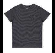 Dstrezzed T-shirt Ronde Hals Streep Navy (202432 - 649)