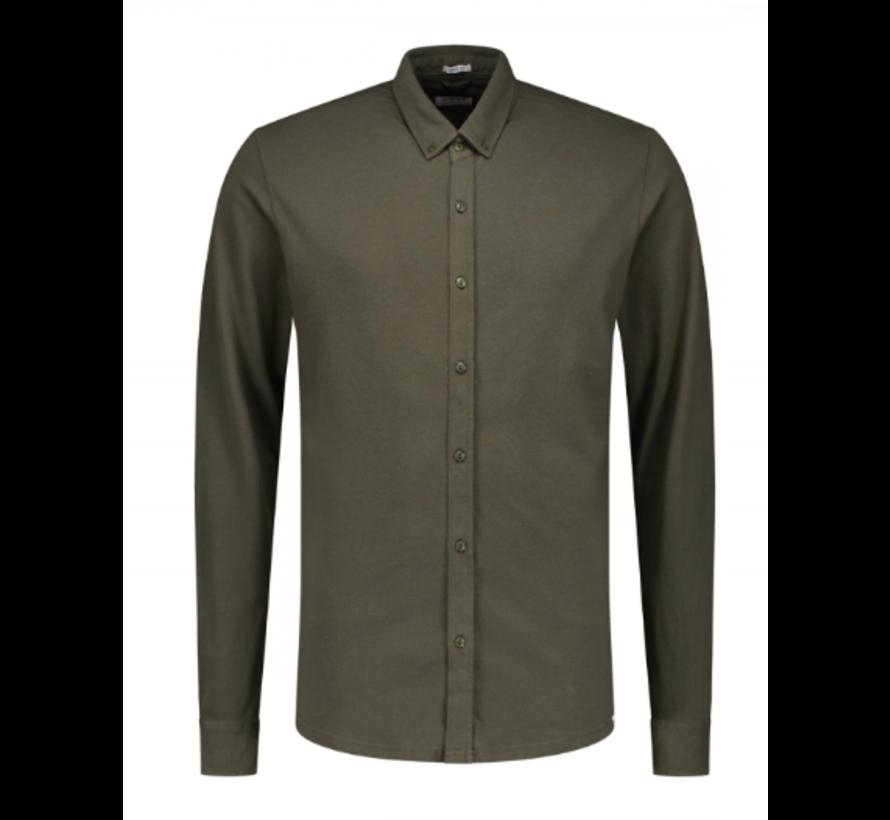 Jersey Overhemd Army Groen (202446 - 524)