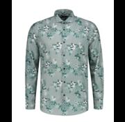 Dstrezzed Overhemd Print Bloemen Licht Blauw (303278 - 689)