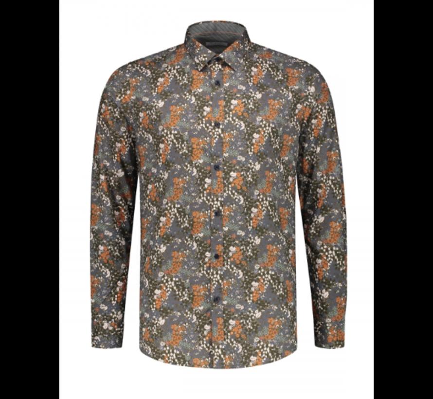 Overhemd Print Bloemen Multicolor (303282 - 511)