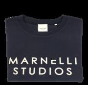 Marnelli Sweater Donker Blauw (SW202-5-010)