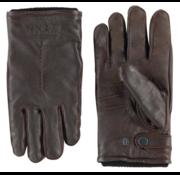 New Zealand Auckland Handschoenen Leer Marymere Donker Bruin (19HN970 - 220)