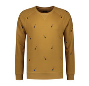 Dstrezzed Sweater Gitaren Bronze (211284 - 305)