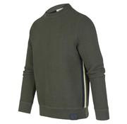 Blue Industry Sweater Structuur Groen (KBIW19 - M37 - Green)