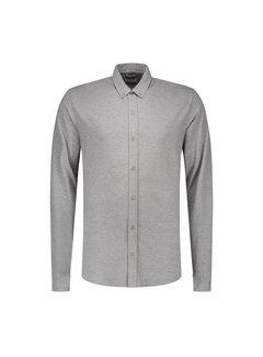 Dstrezzed Jersey Overhemd Grijs Melange (202446 - 830)