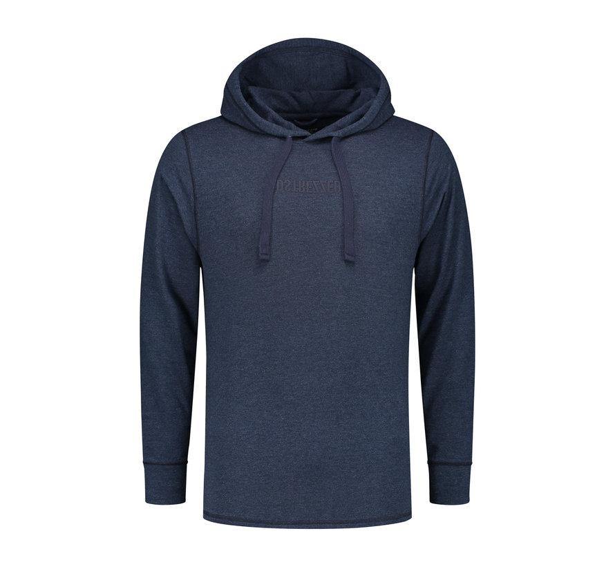 Hooded Sweater Navy Melange (202424 - 650)